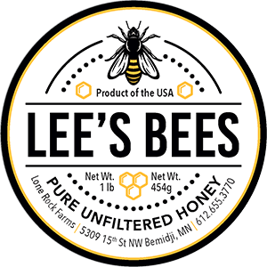 Lee's Bees Hone Logo from Lone Rock Farms