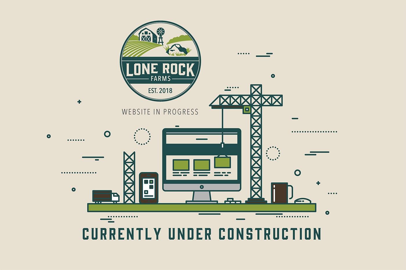 Under Construction Splash Page